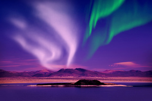 Aurora Borealis Beautiful View Wallpaper