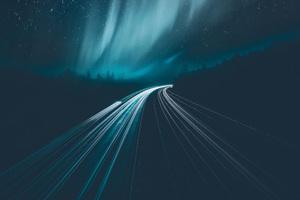 Aurora Borealis During Night Time Wallpaper