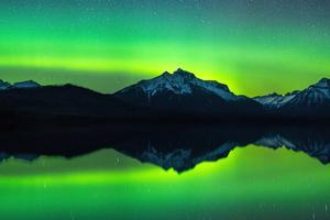 Aurora Borealis From Montana Wallpaper