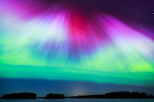 Aurora Borealis Nature 4k Wallpaper