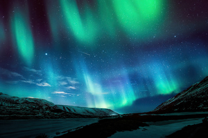 Aurora Borealis Northern Lights 4k