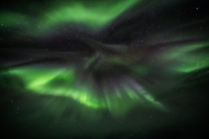 Aurora Green Wallpaper