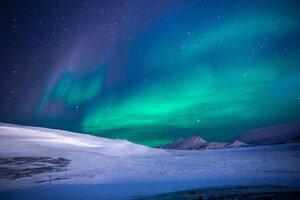 Aurora Northern Lights Stars 5k Wallpaper
