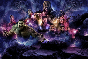 Avengers 4 2019 Movie Poster