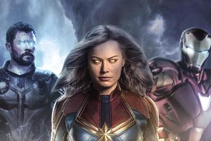 Avengers 4 Fan Art 4k