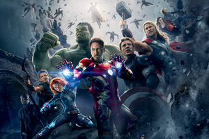 Avengers Age Of Ultron 8k Wallpaper