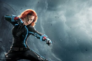 Avengers Age Of Ultron Black Widow Wallpaper