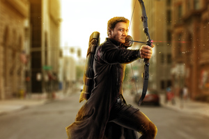 Avengers Age Of Ultron Hawkeye Artwork