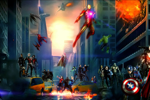 Avengers And Agents Of Shield Wallpaper