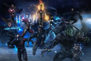 Avengers Annihilation 2019 4k