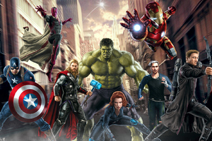 Avengers Art HD Wallpaper