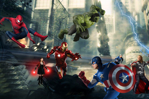 Avengers Artwork Fan Made