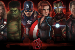 Avengers Assemble 4k Wallpaper