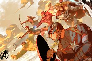 Avengers Assemble 5k