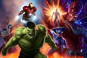 Avengers Assemble Art 4k Wallpaper