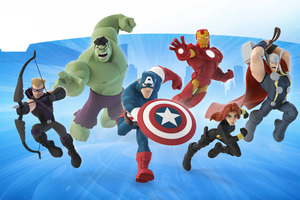 Avengers Disney Infinity 12K Wallpaper