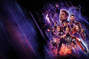 Avengers End Game 4k Banner Wallpaper