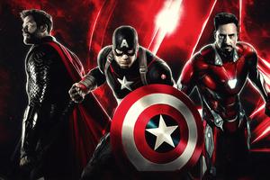 Avengers End Game 4k