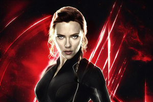 Avengers End Game Black Widow Wallpaper