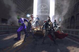 Avengers End Game Fan Art