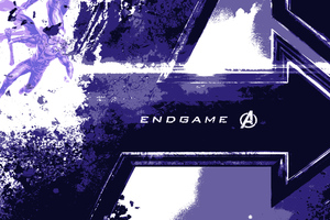 Avengers End Game Logo