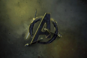 Avengers End Game Mcu Logo 4k Wallpaper