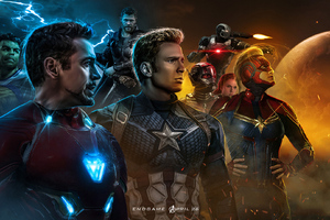 Avengers End Game New Art