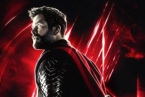 Avengers End Game Thor Wallpaper