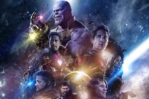 Avengers Endgame 2019 Art
