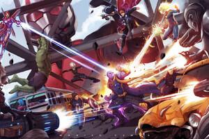 Avengers Endgame 2019 Artwork Wallpaper