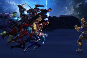 Avengers Endgame 4k Art