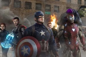 Avengers Endgame 4k Team Wallpaper