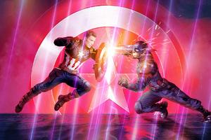Avengers Endgame Captain Vs Captain