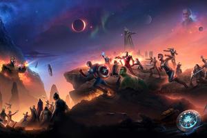 Avengers Endgame China Poster Wallpaper