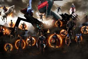 Avengers Endgame Final Battle Scene