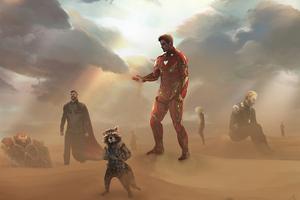 Avengers Endgame Gone Wallpaper