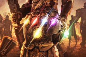 Avengers Endgame Infinity Gauntlet