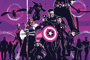 Avengers Endgame Movie Poster Art