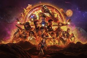 Avengers Endgame New Poster 4k Wallpaper