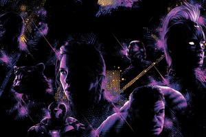 Avengers Endgame New Poster 5k Wallpaper