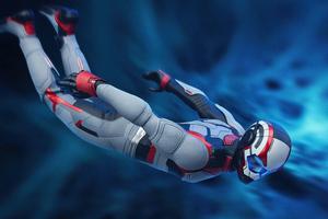 Avengers Endgame Tony Stark Team Suit Wallpaper