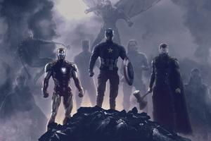 Avengers Endgame Trinity 2019