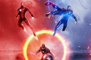 Avengers Endgame Trinity 4k Wallpaper