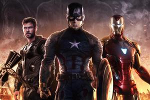 Avengers Endgame Trinity Wallpaper