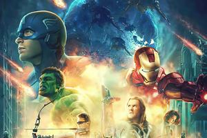 Avengers Fan Made Poster Wallpaper