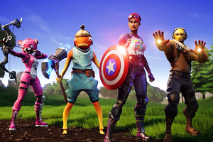 Avengers Fortnite X Wallpaper