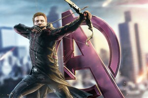 Avengers Hawkeye Wallpaper