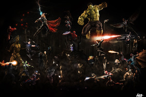 Avengers Infinity War 2018 10k Artwork