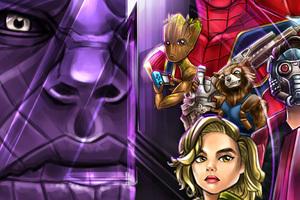 Avengers Infinity War 2018 4k Artwork