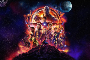 Avengers Infinity War 2018 5k